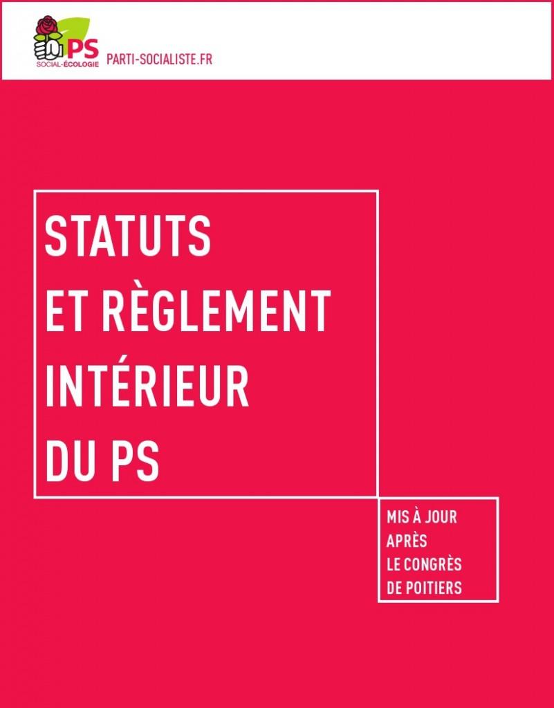 Statuts et reglement 2015 PS