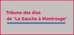 Les tribunes de la gauche à Montrouge
