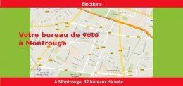 Votre bureau de vote à Montrouge