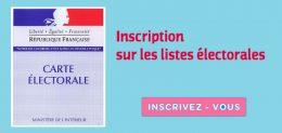 Inscription liste électirale