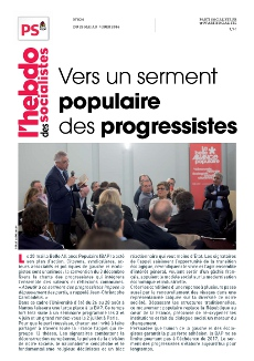 L'Hebdo des socialistes n°824