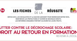 Lutter contre le décrochage scolaire : droit au retour en formation – Fiche de la Réussite n°56