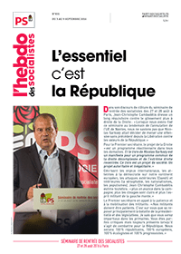L'Hebdo des socialistes n°831