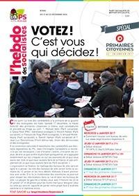 L'Hebdo des socialistes n°845 : « Votez ! C'est vous qui décidez ! »
