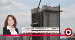 Conseil municipal 18 mai 2015 – Travaux bâtiment SCI Marne : Intervention de D. Armano
