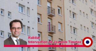 Octroi d'une subvention au titre de surcharge foncière à Montrouge Habitat – Intervention de Joaquim Timoteo