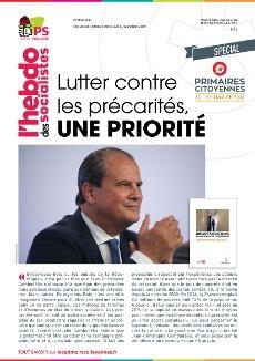 L'Hebdo des socialistes n°846-847 : « Lutter contre les précarités, une priorité »