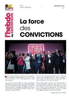 L'Hebdo des socialistes n°855 : La force des convictions