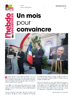 L'Hebdo des socialistes n°858 : « Un mois pour convaincre »