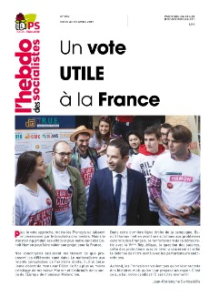 L'Hebdo des socialistes n°859 : « Un vote utile à la France »