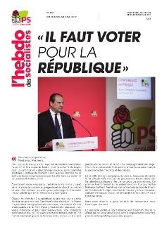 L'Hebdo des socialistes n°861 : « Il faut voter pour la République »