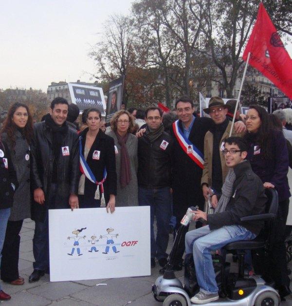 rassemblement RESF - Parvis Notre Dame -15 nov-600
