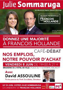 Café-débat vendredi 8 juin 19h30 à Malakoff