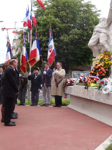 Commémoration du 8 mai 1945 à Montrouge