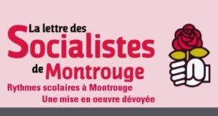 La Lettre des socialistes de Montrouge – Décembre 2014