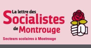 La Lettre des socialistes de Montrouge #1-2016