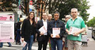 Distribution – Lettre des socialistes de Montrouge – Secteurs scolaires