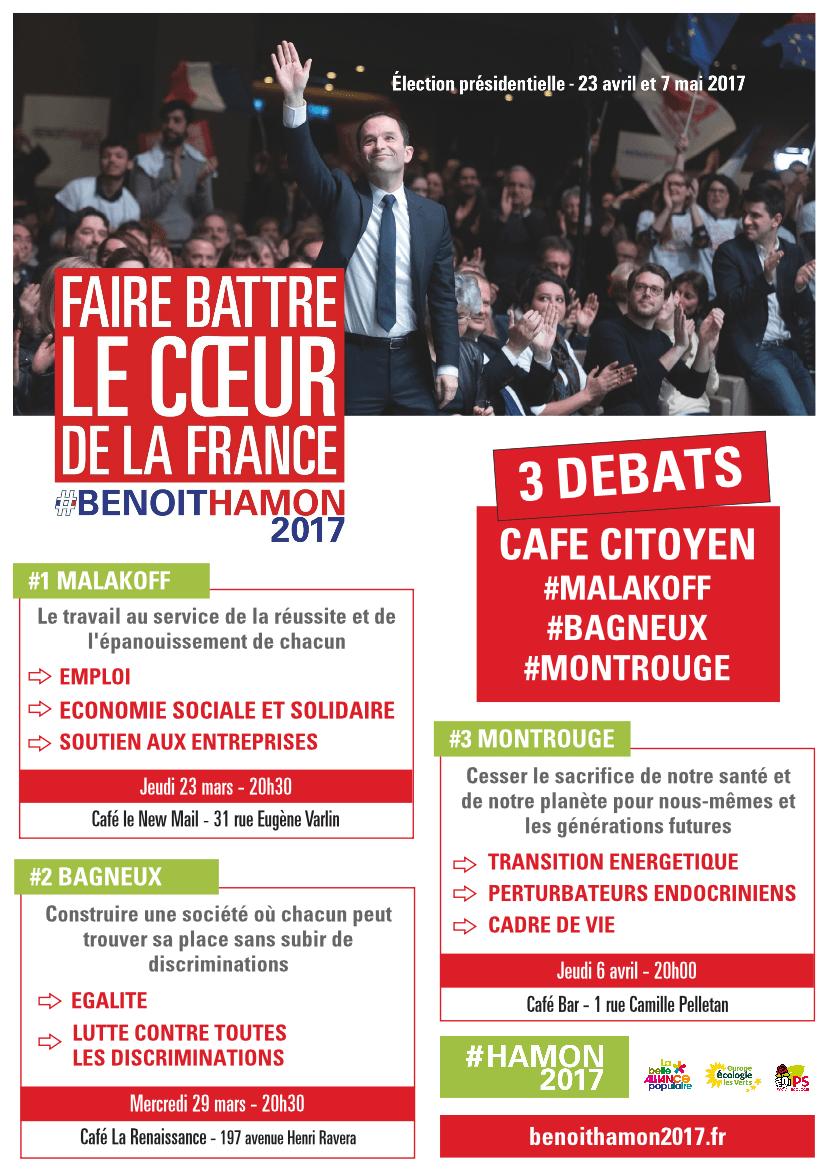 Cafés-débats à Malakoff, Bagneux puis Montrouge