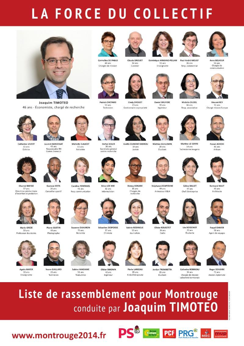 Agir pour Tous à Montrouge - La liste de rassemblement pour Montrouge