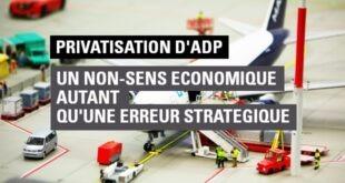 La privatisation d'aéroports de Paris est un non-sens