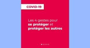 Covid-19 | Partagez les gestes barrière