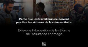 N'abandonnons pas les victimes sociales de la crise sanitaire | Abrogation de la réforme de l'assurance chômage