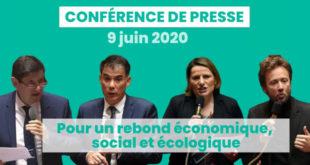 Conférence de presse – « Pour un rebond économique, social et écologique »