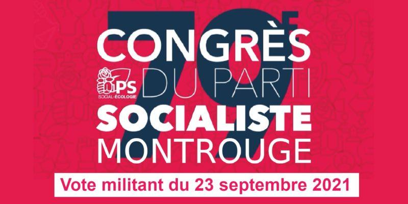 79ème Congrès du Parti socialiste – Résultats Vote du 23 septembre