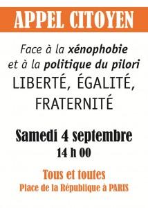Flyer 4 septembre - Ile de France1