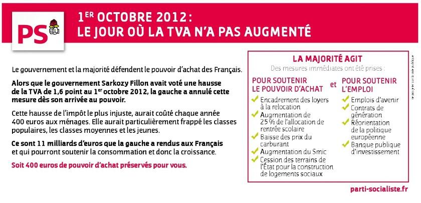 1er octobre annulation de la tva sociale site officiel du parti socialiste de montrouge 92. Black Bedroom Furniture Sets. Home Design Ideas