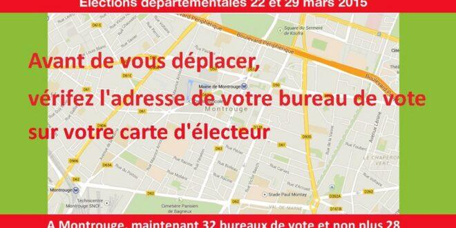 a montrouge 32 bureaux de vote et non plus 28 site officiel du parti socialiste de montrouge 92. Black Bedroom Furniture Sets. Home Design Ideas