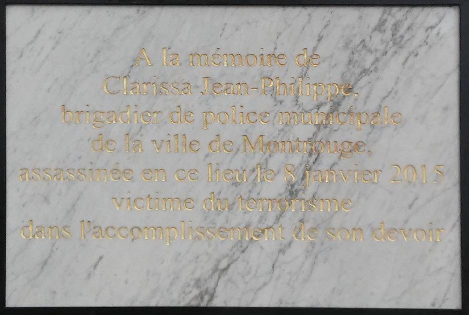 François Hollande a inauguré une plaque commémorative en hommage à Clarissa Jean-Philippe