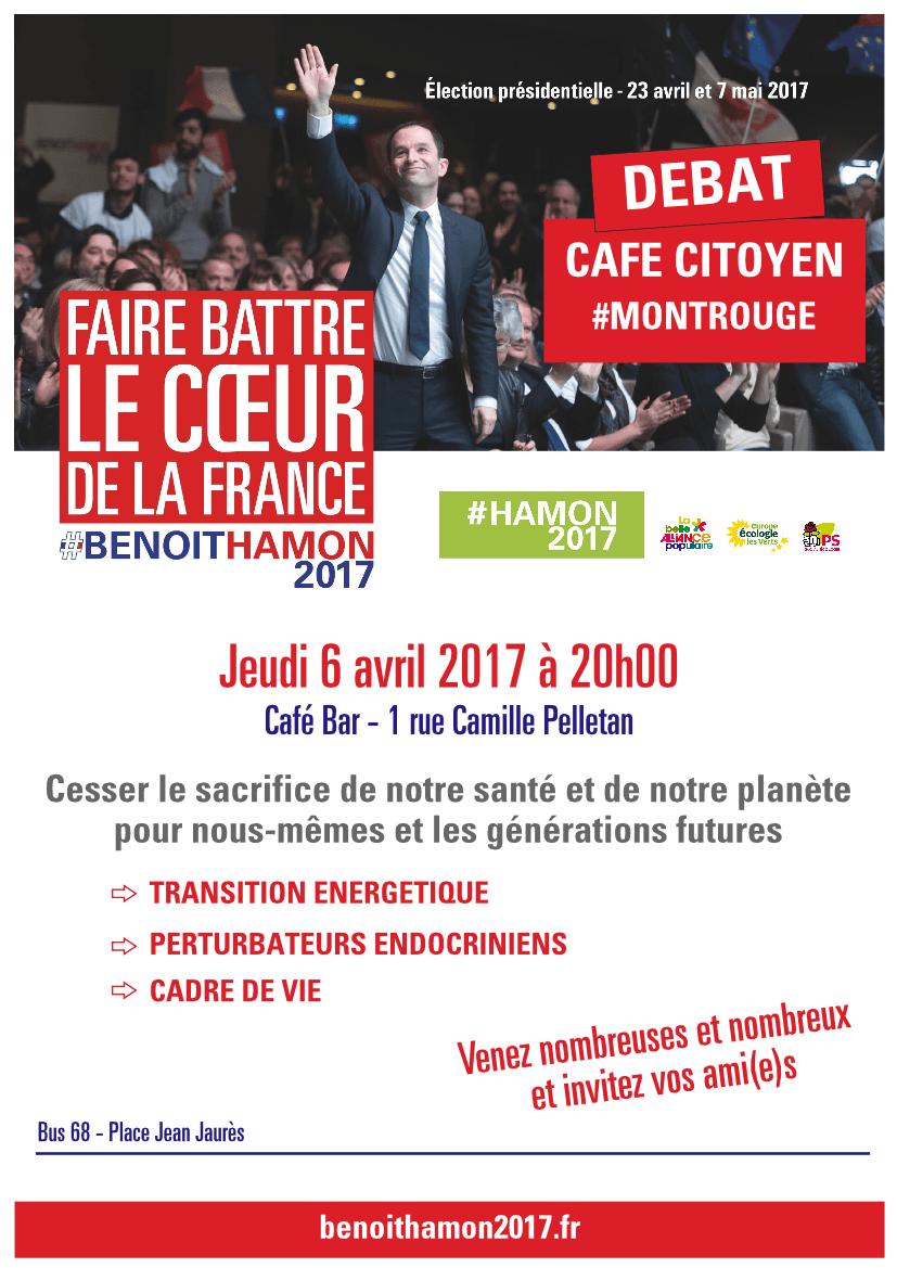Café citoyen à Montrouge le 6 avril - Transition énergétique