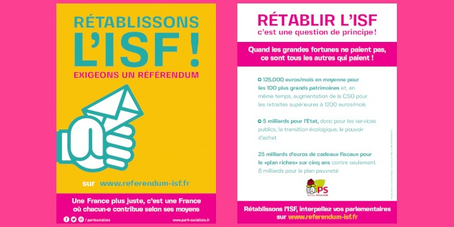 Pourquoi Retablir L Isf L Impot Sur La Fortune Site Officiel