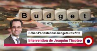 Rapport d'orientations budgétaires 2019 – un rapport sans grandes perspectives