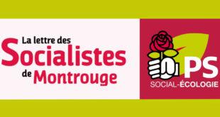 La Lettre des socialistes de Montrouge #4-2020